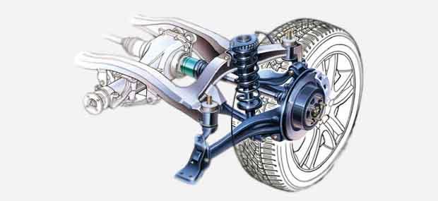 Підвіска та рульове - запчастини